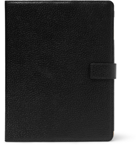 Smythson Textured-Leather iPad Case