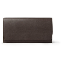 Smythson Marshall Leather Travel Wallet