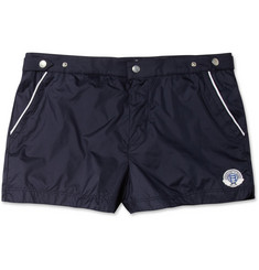 Robinson les Bains Oxford Short-Length Swim Shorts