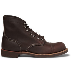 Red Wing Shoes Iron Ranger Leather Boots