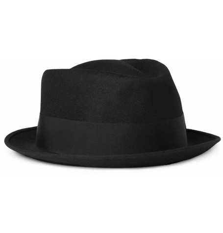 Borsalino Diamante Rabbit-Felt Trilby Hat