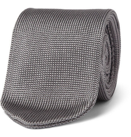 Spencer Hart Slim Knitted Silk Tie