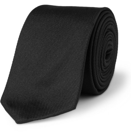 Spencer Hart Silk-Grosgrain Tie