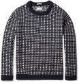 Gant Rugger Norway Patterned Lambswool Sweater