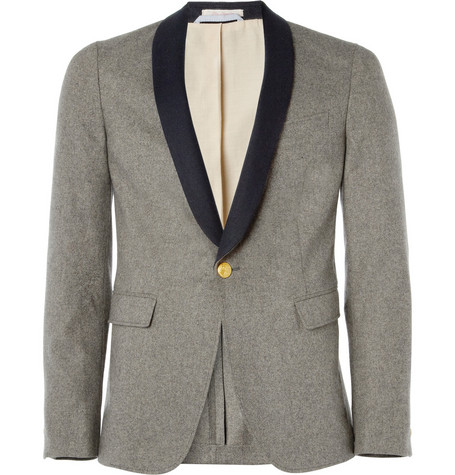 Gant Rugger Shawl-Collar Wool-Blend Tuxedo Jacket