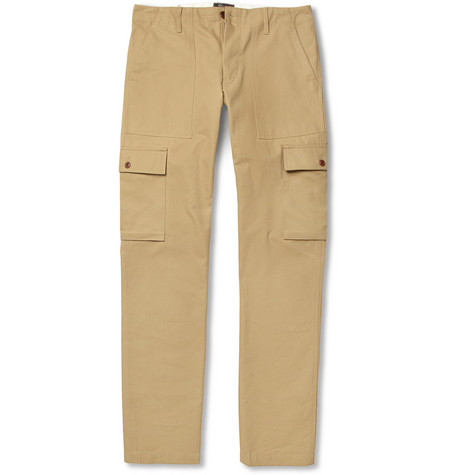 Woolrich Woolen Mills Fatigue Cotton Cargo Trousers
