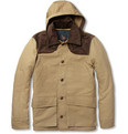 Woolrich Woolen Mills - Cotton-Canvas Coat with Detachable Lining