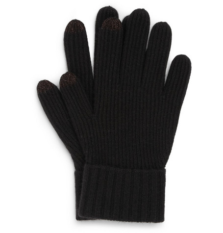 Burberry Shoes & Accessories Touch Screen Cashmere Gloves