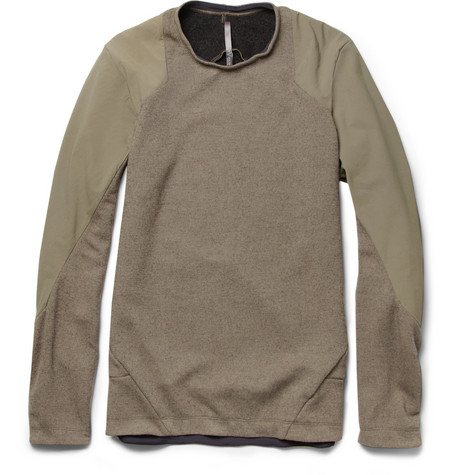 Arc'teryx Veilance Graph Wool-Blend and Shell Sweater