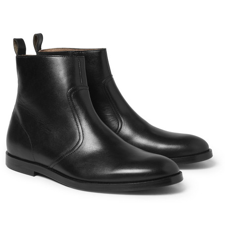 Opening Ceremony Brooklyn Zipped Leather Boots