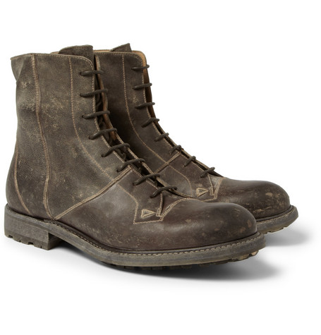 O'Keeffe Cormac Washed-Leather Boots