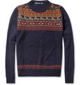 Monsieur Lacenaire Henri Fair Isle Wool Sweater
