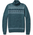 Monsieur Lacenaire - Louis Fair Isle Wool Sweater