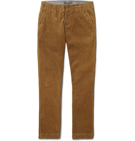 NN.07 Simon Slim-Fit Corduroy Trousers