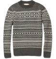 NN.07 Akira Fair Isle Wool-Blend Sweater