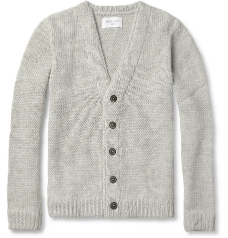 Our Legacy Carmine Alpaca and Merino Wool-Blend Cardigan