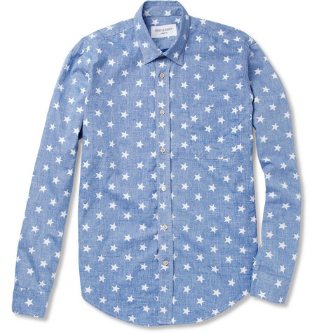 Our Legacy Success Star-Print Cotton Shirt