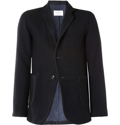 Our Legacy Archive Three-Button Wool-Blend Blazer