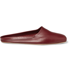 John Lobb Leather Slippers