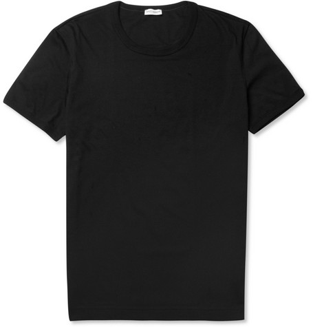 Dolce & Gabbana Cotton Crew Neck T-Shirt