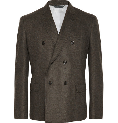 Band of Outsiders Donegal Wool and Cashmere-Blend Tweed Blazer