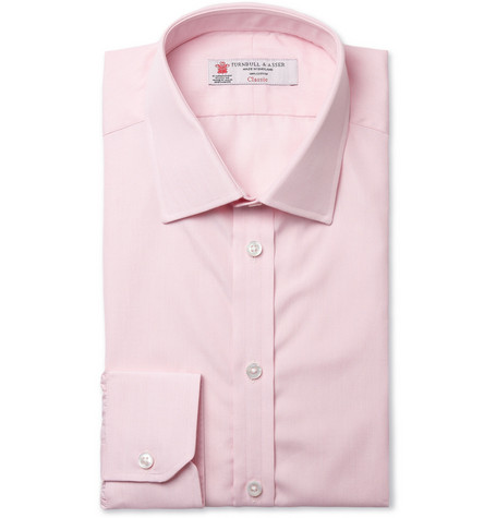 Turnbull & Asser Slim-Fit Woven-Cotton Shirt