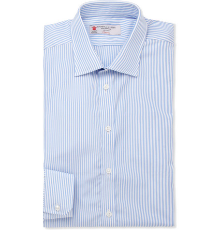 Turnbull & Asser Bengal Stripe Slim-Fit Cotton Shirt