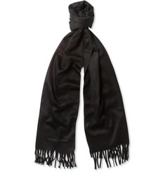 Turnbull & Asser Brushed-Cashmere Scarf
