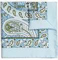 Turnbull & Asser - Paisley-Print Silk Pocket Square
