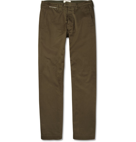 YMC Selvedge Cotton-Twill Trousers