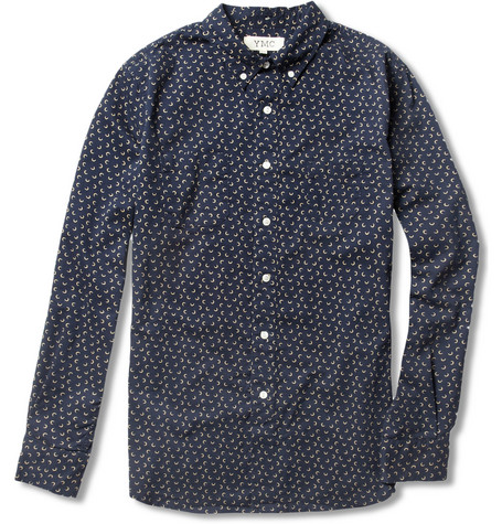 YMC Printed Cotton Shirt