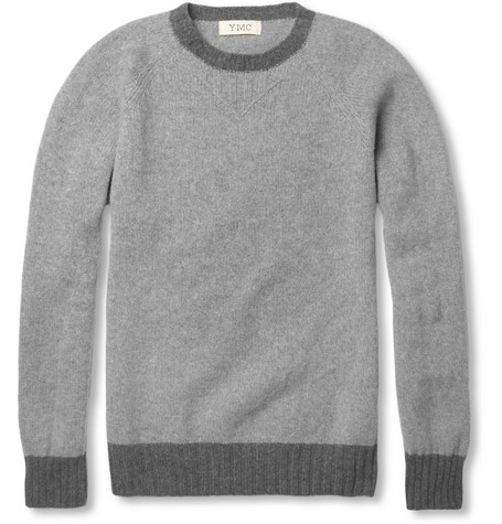 YMC Geelong Wool Crew Neck Sweater