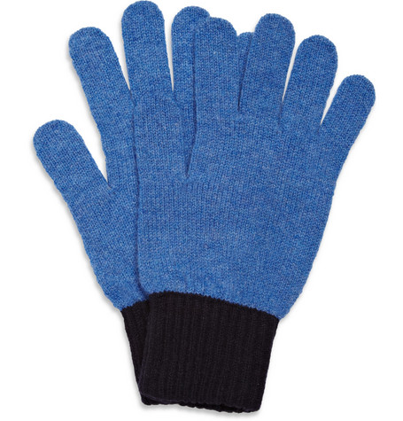 YMC Two-Tone Lambswool Gloves