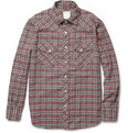 Billy Reid - Samuel Plaid Cotton Shirt