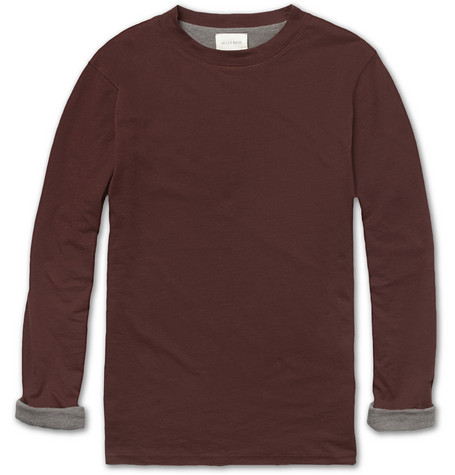 Billy Reid Reversible Cotton-Blend Jersey T-shirt