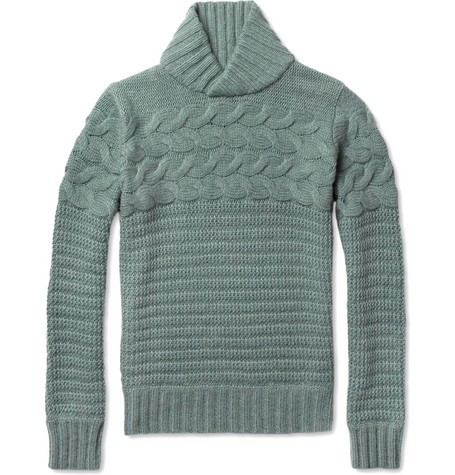 Billy Reid Sibley Chunky Cable-Knit Sweater