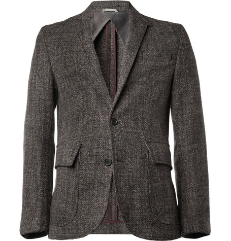 Billy Reid Jonathan Slim-Fit Wool-Tweed Blazer
