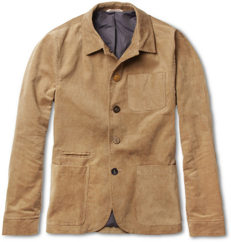 Oliver Spencer Navigator Lightweight Cotton-Corduroy Jacket