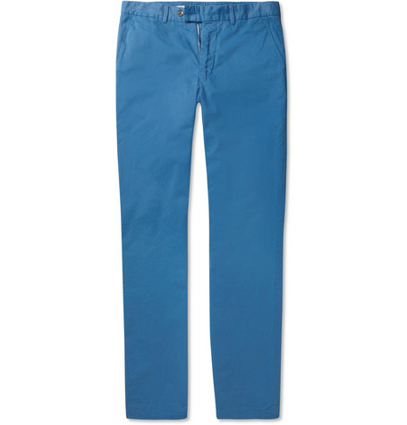 Hentsch Man Joe Cotton-Twill Trousers