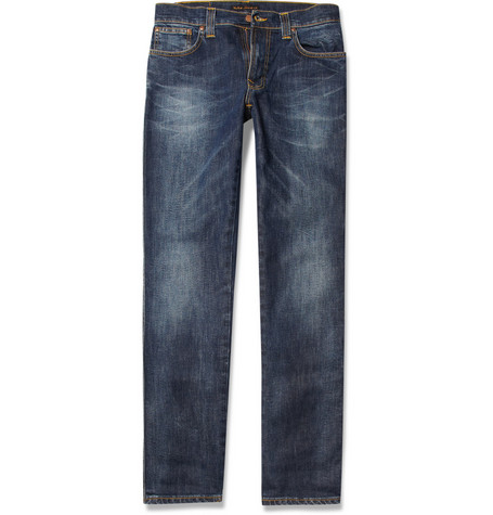 Nudie Jeans Slim Jim Slim-Fit Organic Denim Jeans
