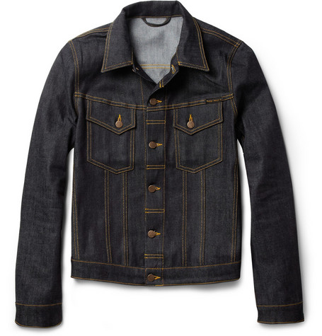 Nudie Jeans Perry Organic Dry Denim Jacket