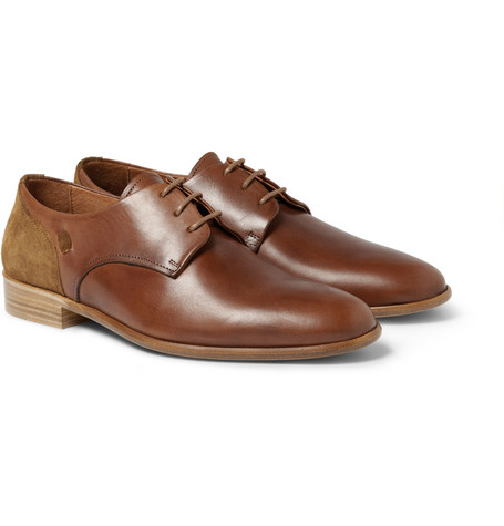 Folk Finlay Leather Derby Shoes