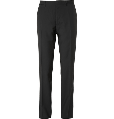 Burberry London Straight-Leg Wool Suit Trousers