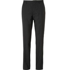 Burberry London Black Relaxed-Fit Wool Suit Trousers