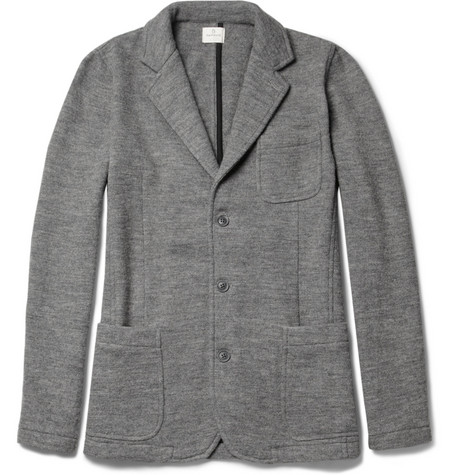 Hartford Knitted Wool Blazer