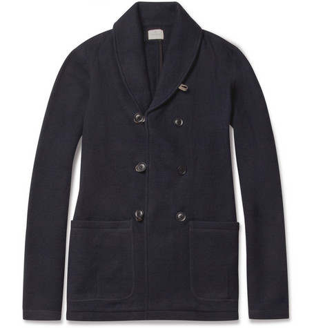 Hartford Shawl-Collar Wool Jacket