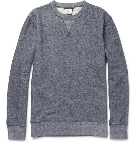 Hartford Loopback-Cotton Crew Neck Sweater
