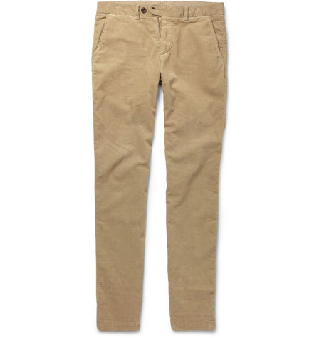 Hartford Straight-Leg Corduroy Trousers