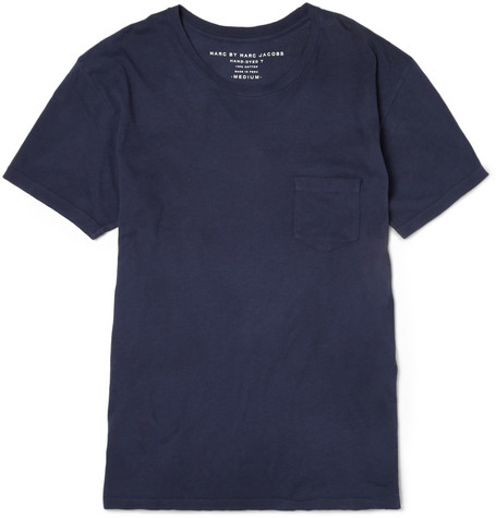 Marc by Marc Jacobs Hand-Dyed Cotton-Jersey T-Shirt