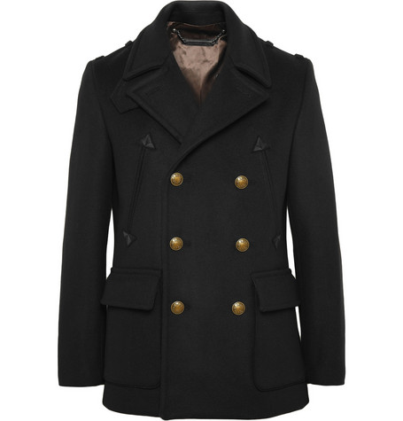 Marc by Marc Jacobs Double-Breasted Wool-Blend Coat
